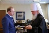 Председатель Издательского Совета встретился с главным редактором «Российской газеты»