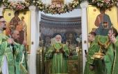 В Полоцке прошли торжества по случаю дня памяти преподобной Евфросинии Полоцкой