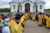 В Вятской митрополии проходит Всероссийский Великорецкий крестный ход