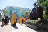 Красноярские врачи и духовенство почтили память святителя Луки (Войно-Ясенецкого)