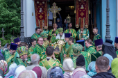 30-летие канонизации блаженной Ксении Петербургской молитвенно отметили в Северной столице