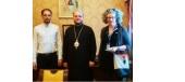 Правящий архиерей Балтской епархии встретился с представителем специальной мониторинговой миссии ОБСЕ