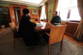 Вопросы строительства православного духовно-просветительского центра в Анадыре обсудили на встрече правящего архиерея Чукотской епархии и губернатора Чукотки
