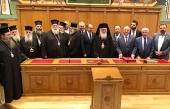 Председатель Комитета Госдумы встретился с Предстоятелем и членами Священного Синода Элладской Православной Церкви