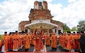 На родине великого архидиакона Константина Розова заложен храм в честь его брата — священномученика Николая