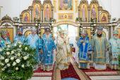 Патриарший экзарх всея Беларуси возглавил торжества в честь Марьиногорской иконы Божией Матери