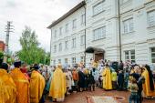 Новое здание православной гимназии освящено в Альметьевской епархии