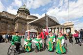 Социальный фестиваль «Белые ночи для всех!» прошел у Казанского собора Северной столицы