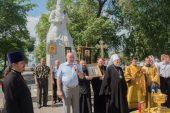 Торжества в честь Собора святых Красноярской митрополии состоялись в Красноярске