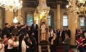 Представитель Русской Православной Церкви принял участие в праздновании тезоименитства Святейшего Патриарха Константинопольского Варфоломея