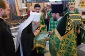 Престольный праздник отметили в Исаакиевском соборе Санкт-Петербурга