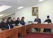 В Синодальном отделе по тюремному служению состоялось расширенное заседание пленума Комиссии Епархиального совета города Москвы по социальному служению в местах лишения свободы