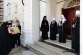 Слово Святішого Патріарха Кирила при відвіданні Кирило-Білозерського монастиря