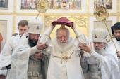 Патриарший наместник Московской епархии освятил храм на малой родине В.В. Терешковой