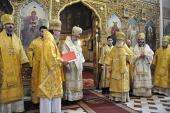 Предстоятель Эстонской Православной Церкви Московского Патриархата прибыл на Эстонскую кафедру