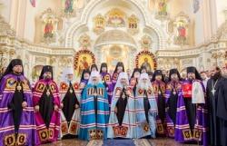 Блаженнейший митрополит Онуфрий возглавил хиротонию архимандрита Гедеона (Харона) во епископа Макаровского