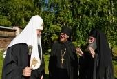 Святейший Патриарх Кирилл посетил Кирилло-Белозерский монастырь
