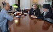 Председатель Синодального отдела по благотворительности посетил психиатрическую больницу № 1 имени Н.А. Алексеева в Москве