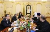 Состоялась встреча Святейшего Патриарха Кирилла с Генеральным секретарем Организации Объединенных Наций