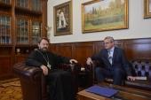 Состоялась встреча председателя ОВЦС с главой австрийской дипломатической миссии в России