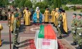 Патриарший экзарх всея Беларуси возглавил церемонию перезахоронения останков младшего сержанта Тимофея Морозова, погибшего в годы Великой Отечественной войны