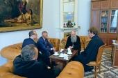 Глава Санкт-Петербургской митрополии обсудил с руководством РГПУ вопросы подготовки преподавателей ОПК
