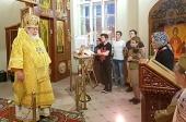 В День памяти и скорби в храме на Киевском вокзале Москвы совершена Литургия
