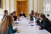 В Санкт-Петербурге прошло заседание епархиального комитета по празднованию 1030-летия Крещения Руси