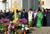 В Троице-Сергиевой лавре совершена соборная панихида по архимандриту Кириллу (Павлову) в день его тезоименитства