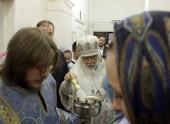 Председатель Синодального отдела по благотворительности освятил больничный храм при научном центре дерматовенерологии в Москве