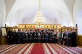 Патриарший экзарх всея Беларуси возглавил выпускной акт в Минской духовной семинарии