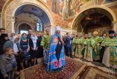 В день тезоименитства митрополит Киевский Онуфрий совершил Литургию в Киево-Печерской лавре