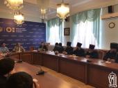 Представители всех высших духовных заведений Украинской Православной Церкви приняли участие во встрече с первым заместителем министра образования и науки Украины