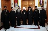 Состоялась встреча митрополита Волоколамского Илариона с Предстоятелем Элладской Православной Церкви