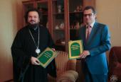 Планы развития сотрудничества Якутской епархии и холдинга «Сахамедиа» обсудили на встрече в епархиальном управлении