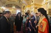 Митрополит Волоколамский Иларион принял участие в открытии выставки, посвященной шедеврам церковного искусства Болгарии