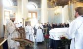 Митрополит Волоколамский Иларион совершил отпевание поэта Андрея Дементьева