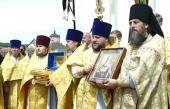 В Успенском Вышенском монастыре состоялись торжества по случаю 30-летия прославления святителя Феофана Затворника
