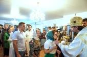 Управляющий приходами Московского Патриархата в странах Восточной и Юго-Восточной Азии совершил Божественную литургию в Успенском храме Сингапура