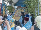 Несколько тысяч паломников приняли участие в состоявшихся в Барнаульской епархии торжествах в честь Коробейниковской иконы Божией Матери