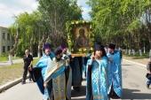 Крестный ход с чудотворной иконой Божией Матери «Знамение» состоялся в Нижнетагильской епархии