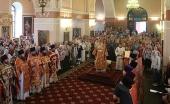 Патриарший наместник Московской епархии возглавил торжества по случаю дня памяти новомучеников Раменских
