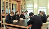 Состоялась встреча митрополита Волоколамского Илариона с послом Ирана в России