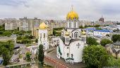 В праздник Рождества Иоанна Предтечи Предстоятель Украинской Православной Церкви возглавил Литургию в Ольгинском соборе Киева