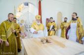 В праздник Рождества Иоанна Крестителя Патриарший экзарх всея Беларуси освятил Иоанно-Предтеченский храм города Минска