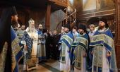 Архиепископ Сергиево-Посадский Феогност возглавил торжества по случаю престольного праздника Сретенского ставропигиального монастыря
