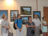 Ко дню памяти блгв. Петра и Февронии Муромских в Ставропольской епархии открылась выставка «Храмовое ожерелье России»