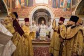 В Неделю 6-ю по Пятидесятнице Предстоятель Украинской Православной Церкви возглавил Литургию в Киево-Печерской лавре
