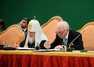 Соболезнование Святейшего Патриарха Кирилла в связи с кончиной В.Н. Ганичева
