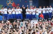 Святейший Патриарх Кирилл поздравил сборную России по футболу с успешным выступлением на Чемпионате мира